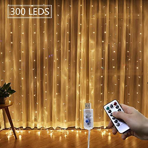 LED-Lichtervorhang Schneller und leichter Aufbau