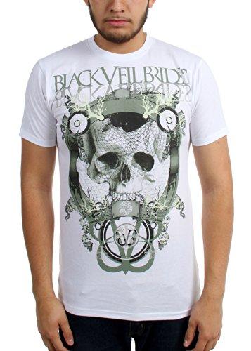 Black Veil Brides - Männer Schädel Net Slim Fit T-Shirt As Shown