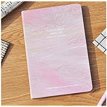 JxucTo Creativo Cuadernos y diarios de diario personal Cuadernos de papel para Office School (rosado)