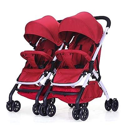 Bykle Cochecito Doble para bebés y niños pequeños Sit N Stand