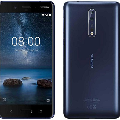 Nokia 8 - Smartphone de 5.3' Dual SIM (Qualcomm Snapdragon 835, Octa Core, 4 GB de RAM, memoria interna de 64 GB,...