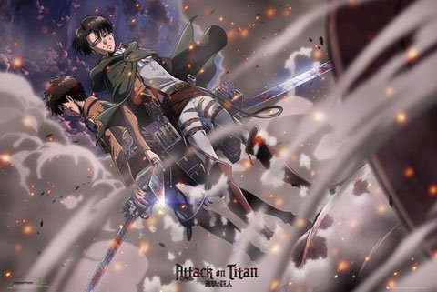 Attack on Titan - Poster - Battle + S-Poster
