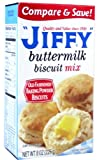 Jiffy Buttermilk Biscuit Mix 226 g (Pack of 6)