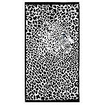 LSSFC Telo da Bagno in Microfibra 150 * 70 cm Asciugamano Animale Grembiule da Spiaggia Asciugamano da Bagno per la casa ad Asciugatura Rapida per Adulti