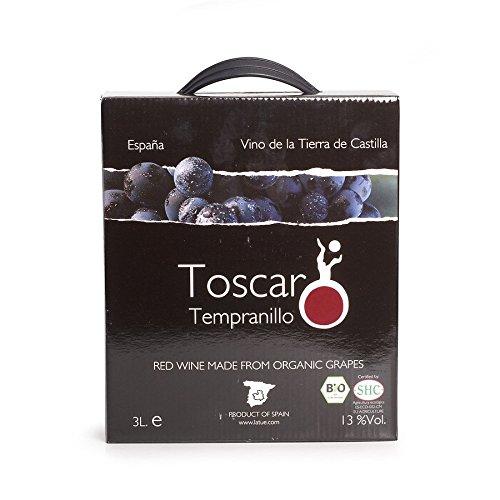 San Isidro Bio Toscar Tempranillo IGO, rot (2 x 3000 ml)