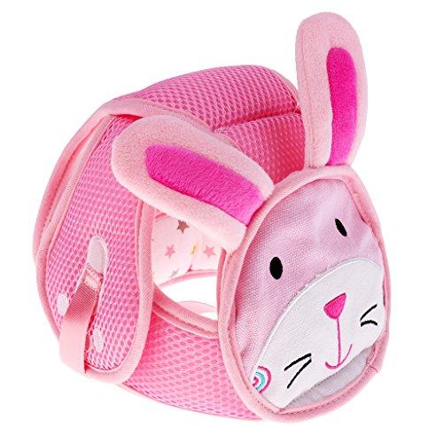 Preisvergleich Produktbild Prettyia Kleinkind Baby Sicherheit Kopf Schutzhelm Babyhelm Kopfschutzmütze Safety Helmet gegen Stöße Baby-Kopf schützen - Hase