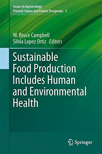Sustainable Food Production Includes Human and Environmental Health (Issues in Agroecology – Present Status and Future Prospectus)