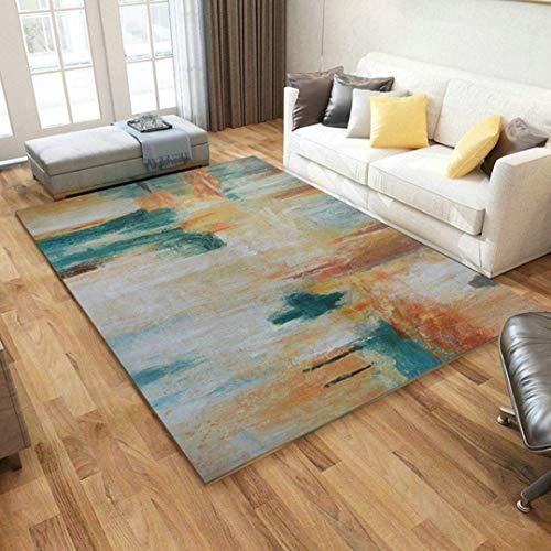 Feidaeu Teppiche Wohnzimmer große 160x230cm abstrakte Kunst Home Dekoration Sofa Couch Tisch...