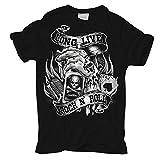 Männer und Herren T-Shirt Long Live Rock N Roll