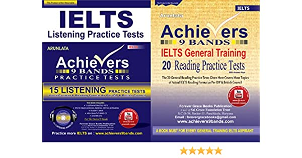 Buy Achievers 9 Bands Combo Pack 20 General Training Reading & 15