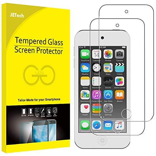 JETech Schutzfolie für iPod Touch (7, 6. und 5. Generation), Gehärtetem Glas Panzerglas Displayschutzfolie, 2 Stück