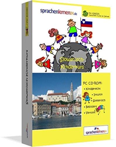 Slowenisch-Kindersprachkurs von Sprachenlernen24: Kindgerecht bebildert und vertont für ein spielerisches Slowenischlernen. Ab 5 Jahren. PC CD-ROM für Windows 10,8,7,Vista,XP / Linux / Mac OS X