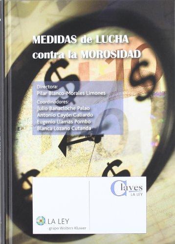 Medidas de lucha contra la morosidad (Claves la Ley) por Pilar Blanco-Morales Limones