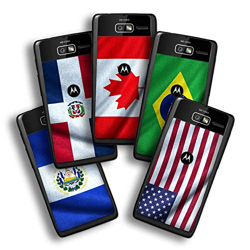 atFolix Designfolie kompatibel mit Motorola Razr i, Skin Aufkleber (Flaggen aus Amerika) -
