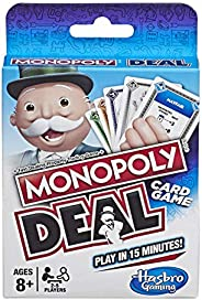 Hasbro Gaming Monopoly Deal (English) Game
