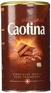 Caotina originale, Poudre de Cacao avec du Chocolat Suisse, Chocolat Chaud, Boîte, 500g