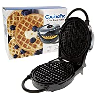 Waffle Iron by Cucina Pro - Non-Stick Waffler with Adjustable Browning Control (1474)