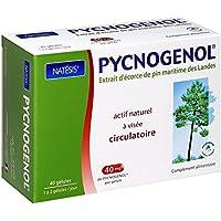 NATESIS Pycnogenol/Extrait d'Écorce de Pin 40 mg/40 Gélules