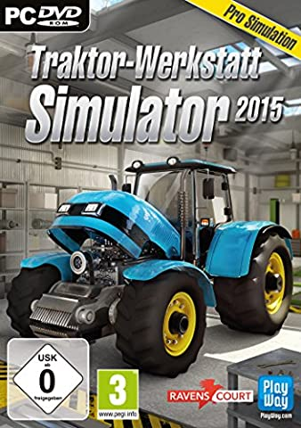 Traktor-Werkstatt Simulator 2015 (PC)