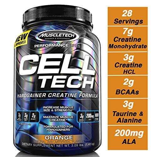 Muscletech Cell-Tech - Orange, 1er Pack (1 x 1.4 kg)