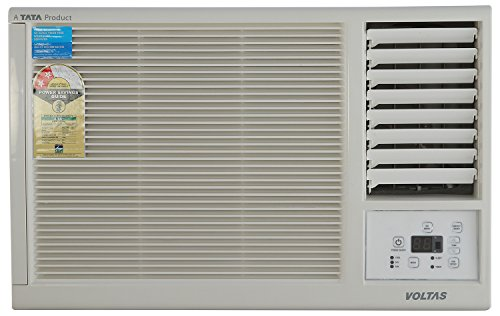 Voltas 122LYi Window AC (1 Ton, 2 Star Rating, White, Copper)
