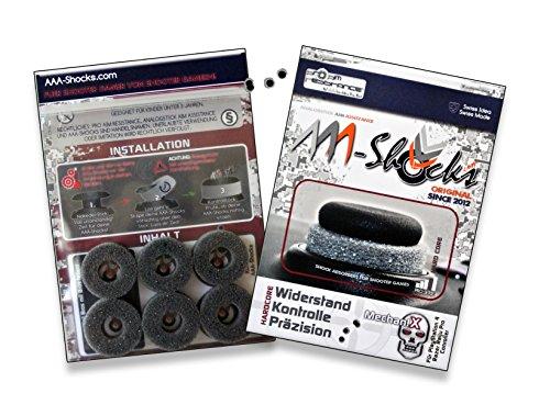 AAA-Shocks (Original Analogstick Aim Assistance Stossdämpfer Zielhilfe für Shooter Games): MechaniX für Razer Raiju Pro Controller (Extreme-duty-kit)