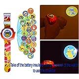Pokemon Pikachu Reloj de Proyección Digital 20 Imágenes Diferentes + Pikachu Wallet