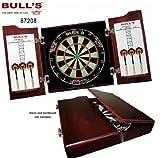 Bull's Solid Wood Kabinett, Braun, 58 cm x 57 cm x 15 cm
