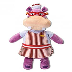 Docteur la peluche hallie l 39 hippopotame peluche doc - Jouet doc la peluche ...