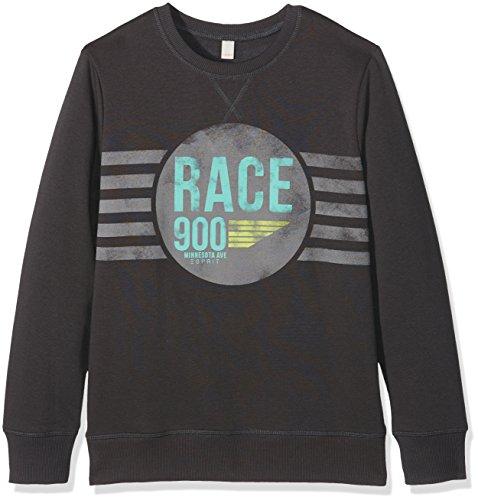 Esprit Kids Baby-Jungen Sweatshirt Sweat Shirt, Grau (Anthracite 010), One size (Herstellergröße: L)
