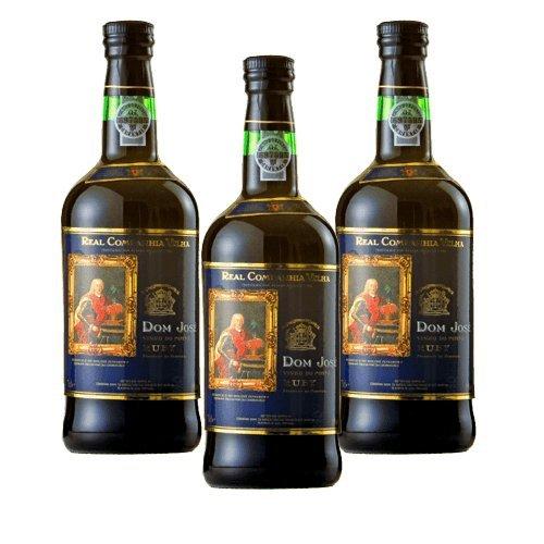 Portwein Real Companhia Velha Dom José Ruby - Dessertwein- 3 Flaschen