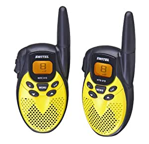 Switel WTE 019 Set de talkie-walkie portée 5 km
