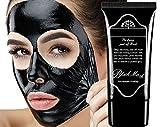 LUCKYFINE Maske für Gesicht Entfernung von schwarzen Punkten und Anti Akne Peel Off Maske schwarze Gesichtsbürste entfernen Komedos