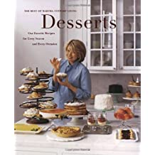 Desserts (Best of Martha Stewart Living) by Martha Stewart Living Magazine (1998-11-17)