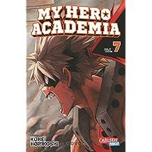 My Hero Academia 7: Die erste Auflage immer mit Glow-in-the-Dark-Effekt auf dem Cover! Yeah!