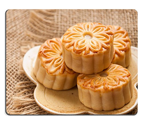 MSD Natural Rubber Gaming Mousepad IMAGE ID 32042928 mooncake traditional chinese foods during mid autumn festival