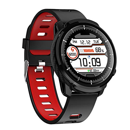 Finelyty Smart Watch da Uomo Orologio Sportivo Impermeabile Monitoraggio della frequenza cardiaca Orologio per Orologio...