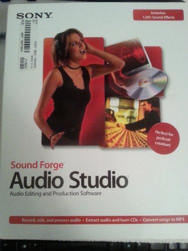 Sony Sound Forge Audio Studio 8.0 Software Audio Editing und Production Software (Sound Audio Studio Sony Forge)