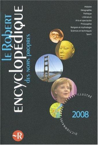 Le Robert Encyclopdique des noms propres