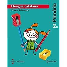 Llengua catalana. 2 Primària. Construïm. Trimestres. Illes Balears  - Pack de 3 libros - 9788466138284