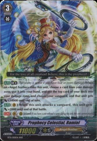 Cardfight!! Cardfight!! Cardfight!! Vanguard TCG - Prophecy Celestial Ramiel (BT11/S01EN) - Seal Dragons Unleashed by Bushiroad Inc. 1d17f2