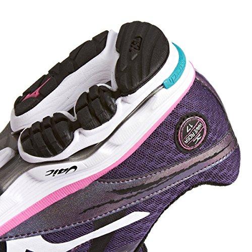 Mizuno Sportschuh Wave Rider 17 Womens lila / weiß / pink