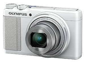 Olympus STYLUS XZ-10 Digital Camera - White (12MP, 5x i.Zuiko Wide Optical Zoom) 3 inch Touch LCD