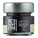 Bernardini Tartufi Tartufata Setas y Trufa en Aceite - 3 Paquetes de 1 x 30 gr - Total: 90 gr