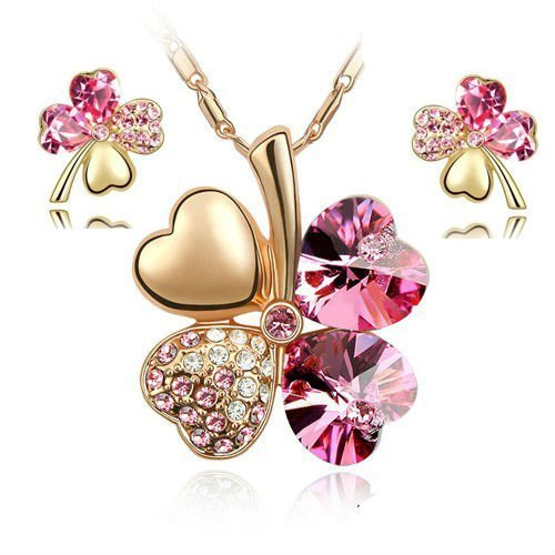 general-gifts-charm-trefle-a-quatre-feuilles-en-cristal-swarovski-elements-collier-pendentif-18-k-pl