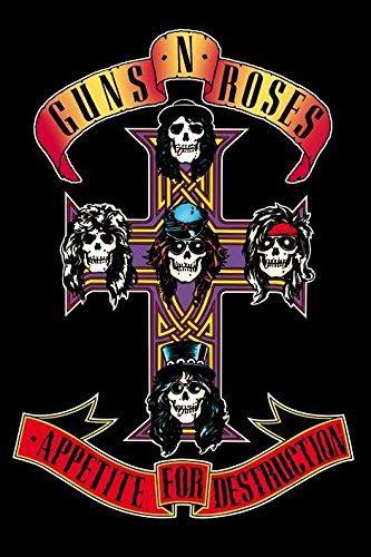 """Guns N'Roses-Appetite For Destruction-Poster 61 x 91,5 Cm/Poster """""""