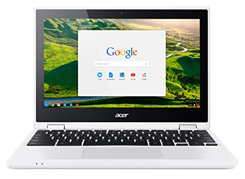 Acer Chromebook R 11 (11,6 Zoll HD IPS Multi-Touch, 360° Convertible, Aluminium A-Cover, 19mm flach, extrem lange Akkulaufzeit, Google Chrome OS) Weiß
