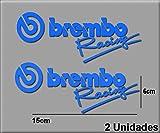 Ecoshirt 9Y-O01U-J1U4 Pegatinas Stickers Brembo Racing