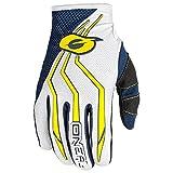 O'Neal Element MX Kinder Handschuhe Motocross TPR DH Downhill Enduro Offroad Mountain Bike, 0392, Farbe Blau Gelb, Größe S