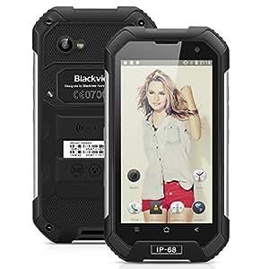 Blackview BV6000 Smartphone 4G - 4.7 pollici Android 6.0 Octa cores 2.0GHz 3GB RAM 32GB ROM, Dual Camera 5MP+13MP, Dual SIM WiFi GPS, Nero